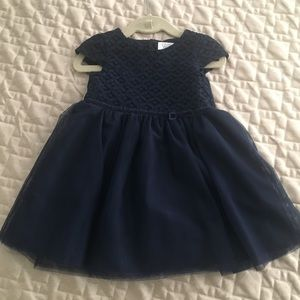 Navy special occasion dress